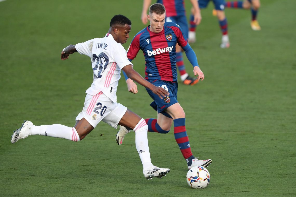 Real Madryt vs Levante UD 22.08.2021