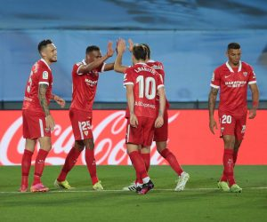 Sevilla po strzeleniu gola 23.08.21