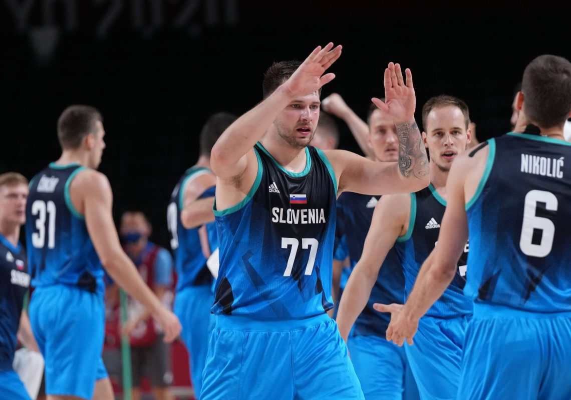 Słowenia; Luka Doncić IO koszykówka 04.08