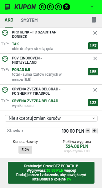 LM na 03.08. Totalbet