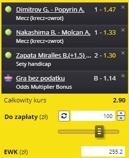 Triple tenis 01.09.2021 Fortuna