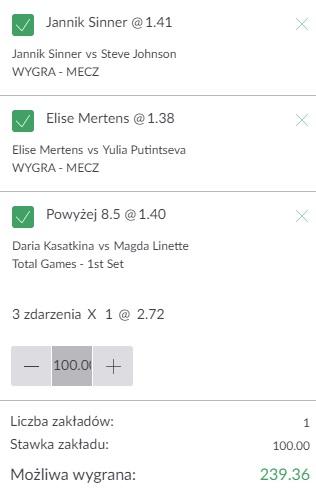 Triple tenis 06.08.2021