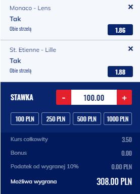kupon double ligue 1, 21.08.2021