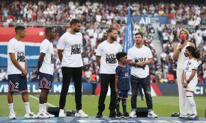Prezentacja nowych piłkarzy PSG