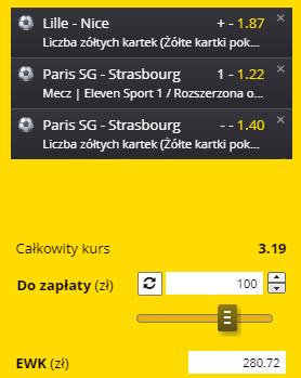 kupon triple ligue 1, 14.08.2021