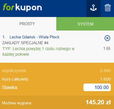 lechia wisla plock forbet kupon 01.08.2021