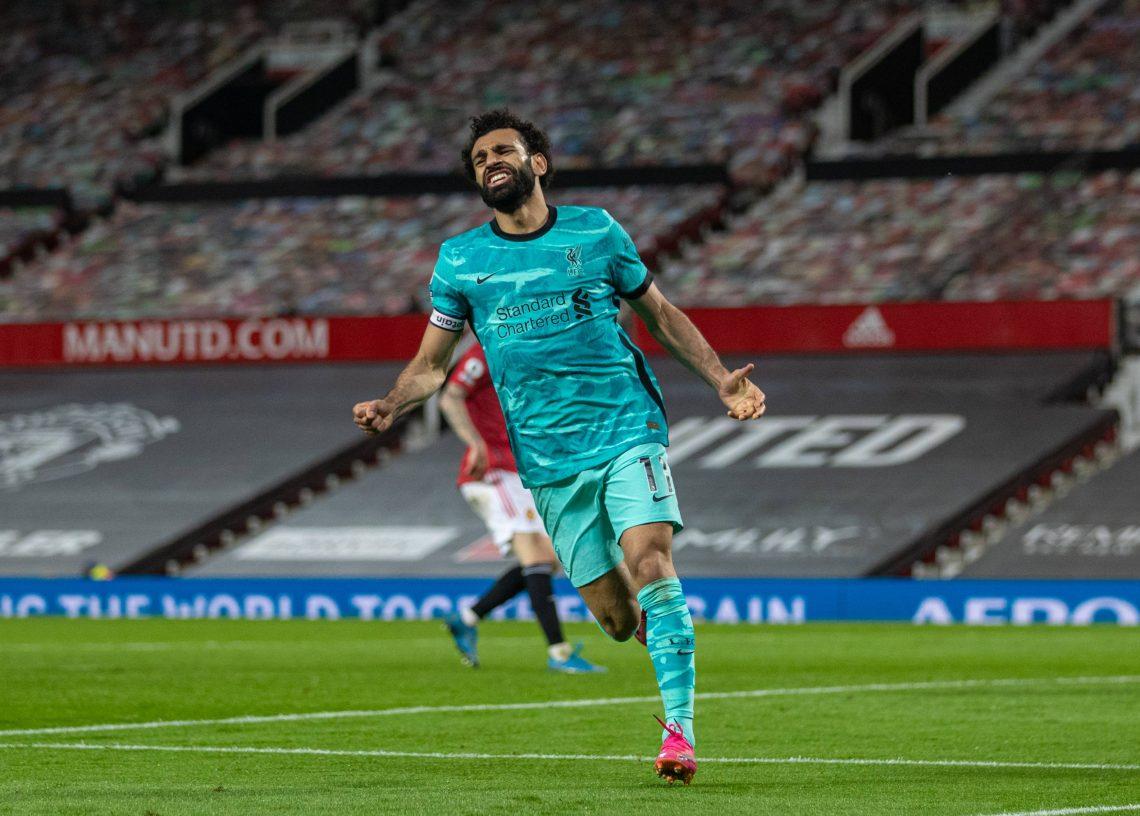 Mohamed Salah po zdobyciu gola - kupon PL 11.08