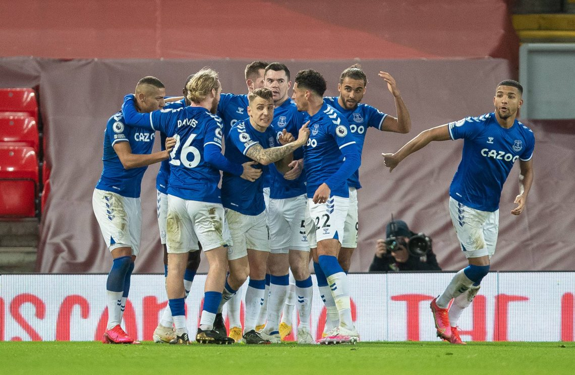 Everton po zdobytej bramce - kupon Carabao Cup 24.08.