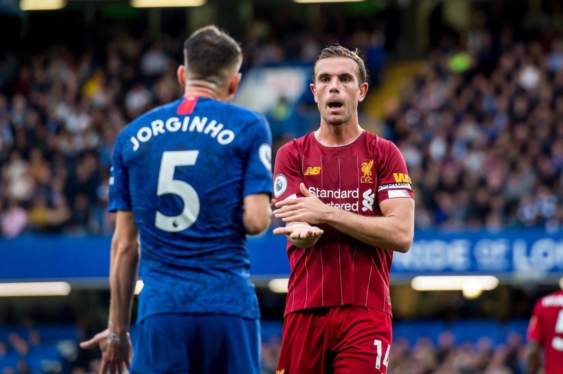 Jorginho i Henderson - Chelsea vs Liverpool
