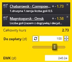 KHL Fortuna na 15.09.