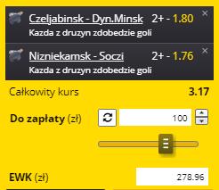 Kupon KHL numer 2 20.09. Fortuna