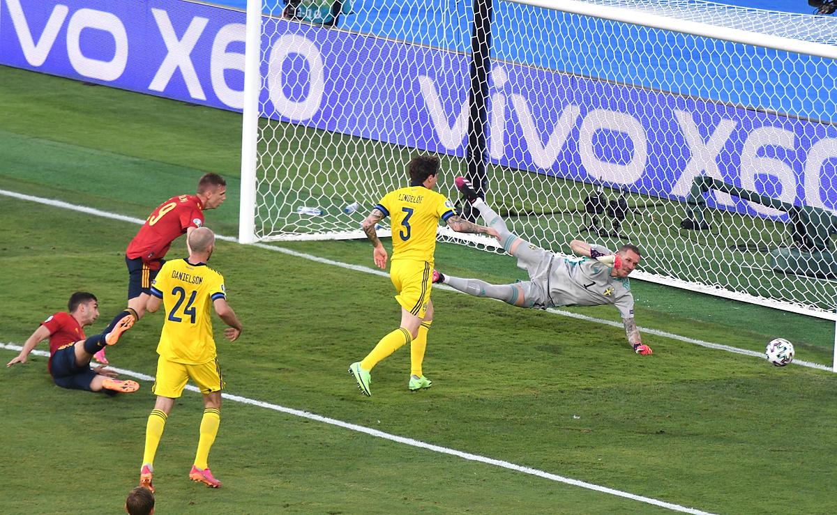 Hiszpania - Szwecja Euro 2020
