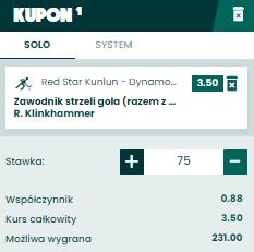 Singiel BETFAN KHL na 30.09.