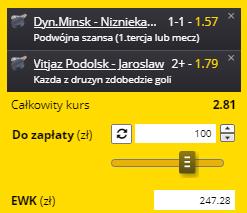 Fortuna pewniak KHL 29.09.