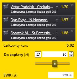 14.09. Fortuna KHL pierwsze tercje