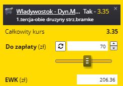 Singiel Fortuna KHL na 14.09.