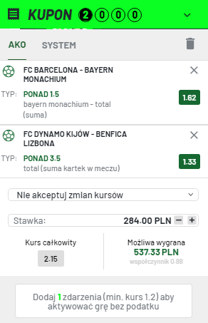 TOTALBET LM na 14.09.