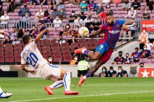 Memphis Depay; FC Barcelona 20.09.21
