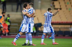 Real Sociedad, radość po golu 26.09