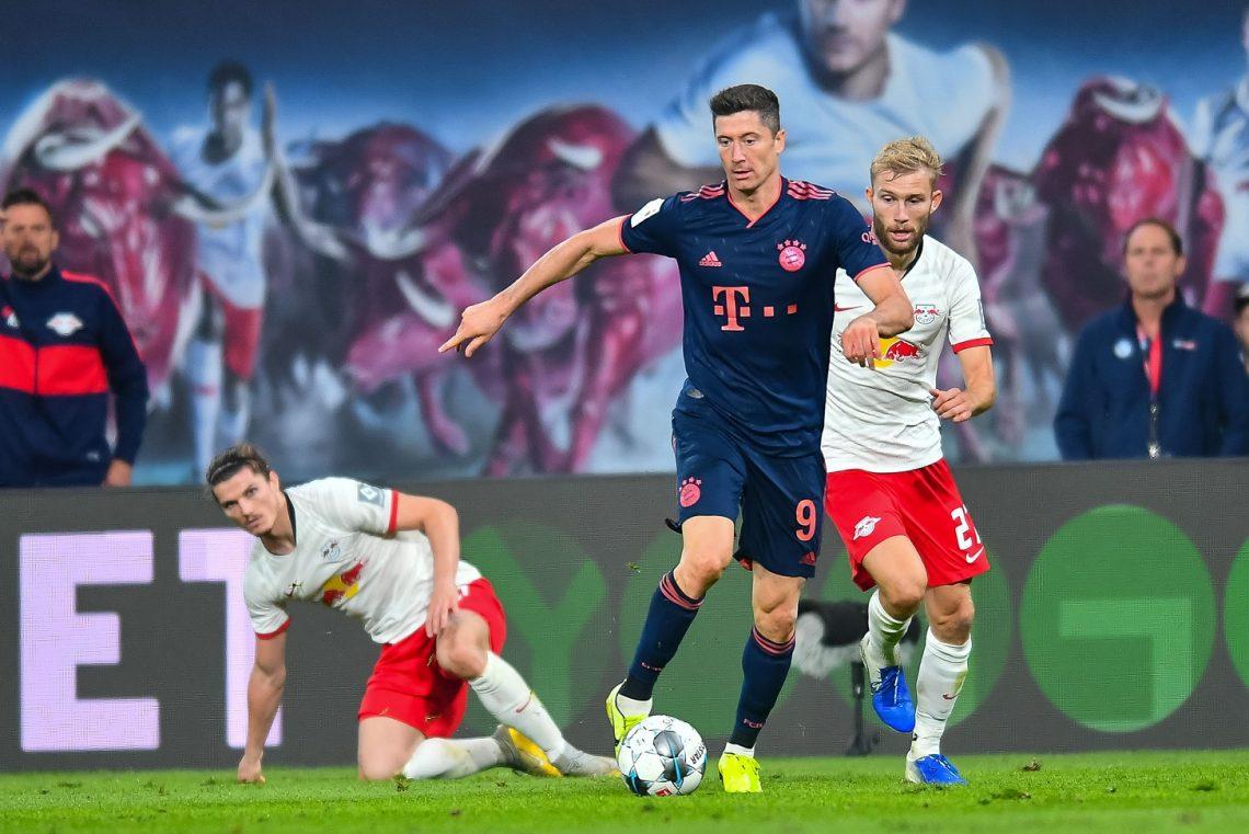Lewandowski vs RB Lipsk
