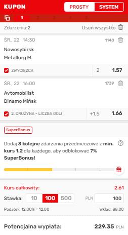 AKO KHL 22.09. Superbet