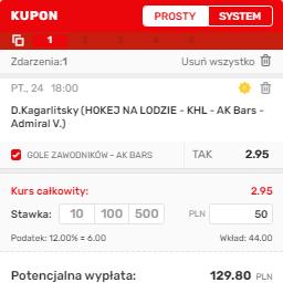 KHL 24.09. Superbet
