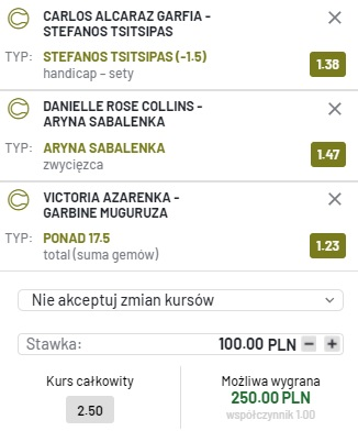 Triple tenis 03.09.2021