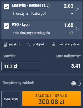 kupon double ligue 1, 19.09.2021