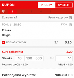 kupon siatkówka polska