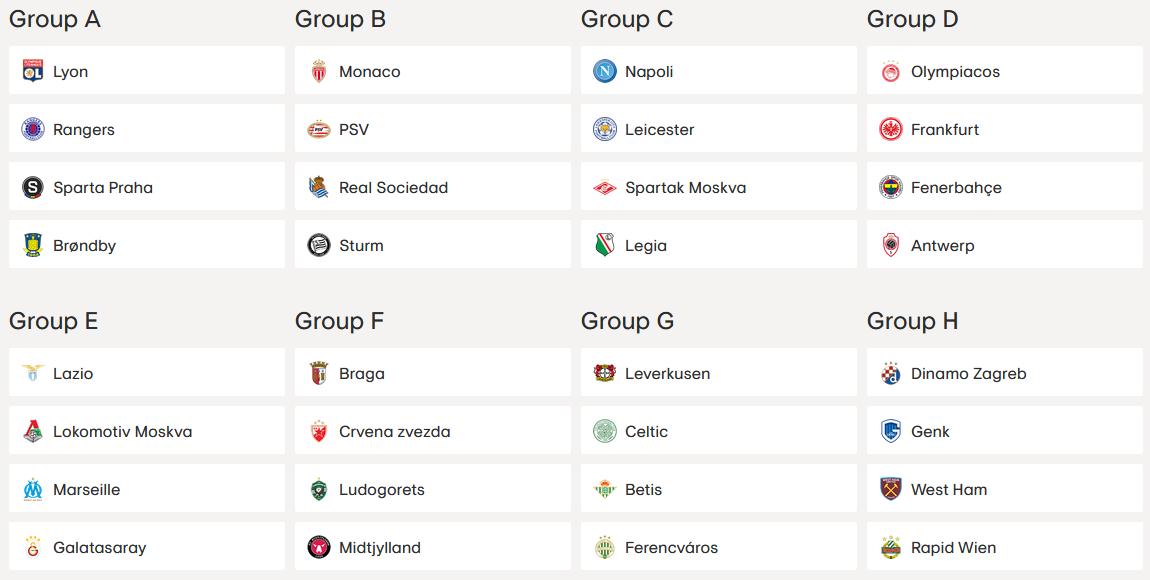 liga europy 21 22