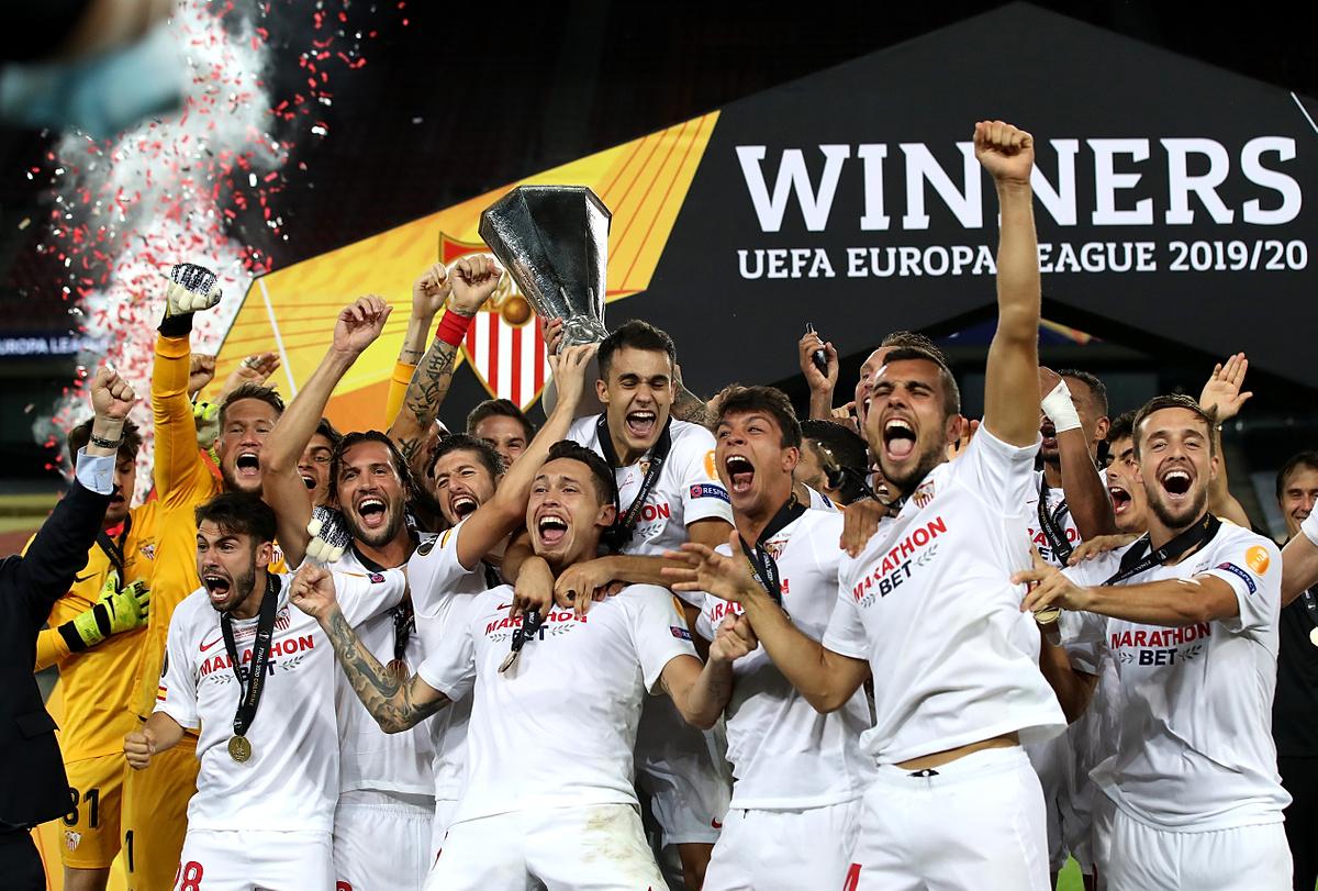 sevilla liga mistrzów liga europy