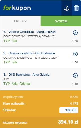 typy puchar polski 29.09