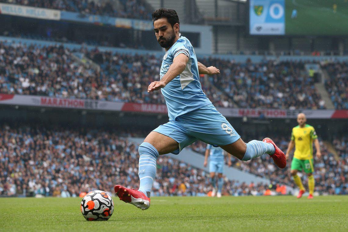 Ilkay Gundogan w Manchesterze City - kupon 18.09. Betfan