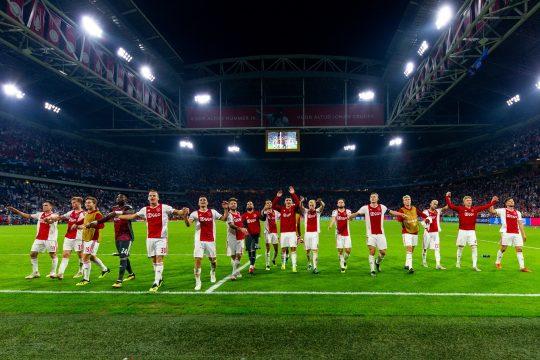 Ajax piłkarze