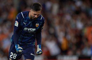 Giorgi Mamardashvili; Valencia CF 27.10.2021