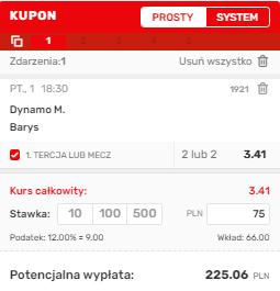 Superbet singiel KHL 01.10.
