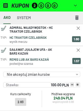 KHL TOTALBET na 12.10.