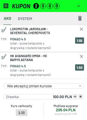 KHL TOTALBET na 13.10.
