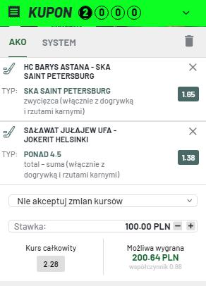KHL TOTALBET na 08.10.