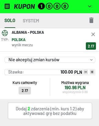 albania polska typy