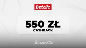 betclic 550 cashback